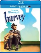HARVEY BLU-RAY DVD + Digital Copy + UltraViolet JIMMY STEWART INVISIBLE ... - $24.99