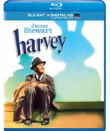 HARVEY BLU-RAY DVD + Digital Copy + UltraViolet JIMMY STEWART INVISIBLE ... - $22.99