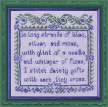 Stitchers Gift cross stitch chart Tempting Tangles - $8.10