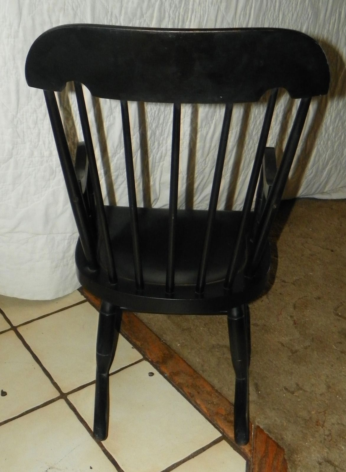 Nichols & Stone Maple Handpainted Childs Rocker / Rocking Chair (R72...