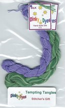 SILK FLOSS PACK for Stitchers Gift cross stitch chart Dinky Dyes - $8.10