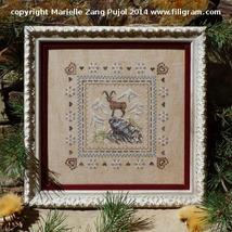 Ibex On Rocky Peak cross stitch chart Filigram - $9.90