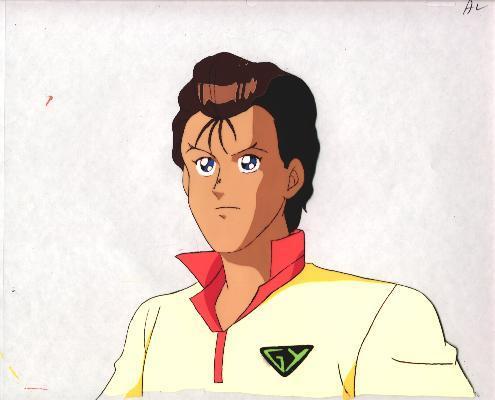 """Ashita e Free Kick """"Daichi"""" Anime Cel (0210)"""