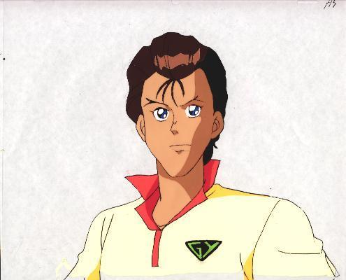 """Ashita e Free Kick """"Daichi"""" Anime Cel (0211)"""