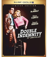 DOUBLE INDEMNITY BLU-RAY DVD + DIGITAL HD ULTRAVIOLET BARBARA STANWYCK M... - $29.95