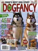 DOG FANCY magazine Dec 2008 RHODESIAN RIDGEBACK Brussels GRIFFON Xoloitz... - $9.99