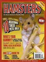 HAMSTERS USA magazine 2008 of CRITTERS Editors Syrian INTERACTION CAMPBE... - $9.99
