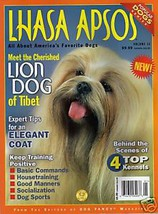LHASA APSOS Dog Fancy Magazine LION of TIBET He... - $9.99