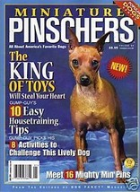 Miniature Pinschers of Dog Fancy magazine HOUSE... - $9.99