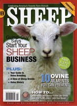 SHEEP of HOBBY FARMS MAGAZINE Breed Ovine Histo... - $9.99