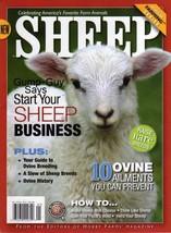 SHEEP of HOBBY FARMS MAGAZINE Breed Ovine Histo... - $9.99