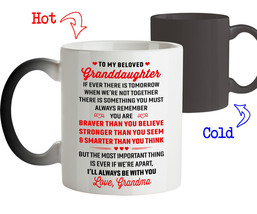 Coffee Mug Birthday Gift for Granddaughter from Grandma I'll Always be w... - $18.95+