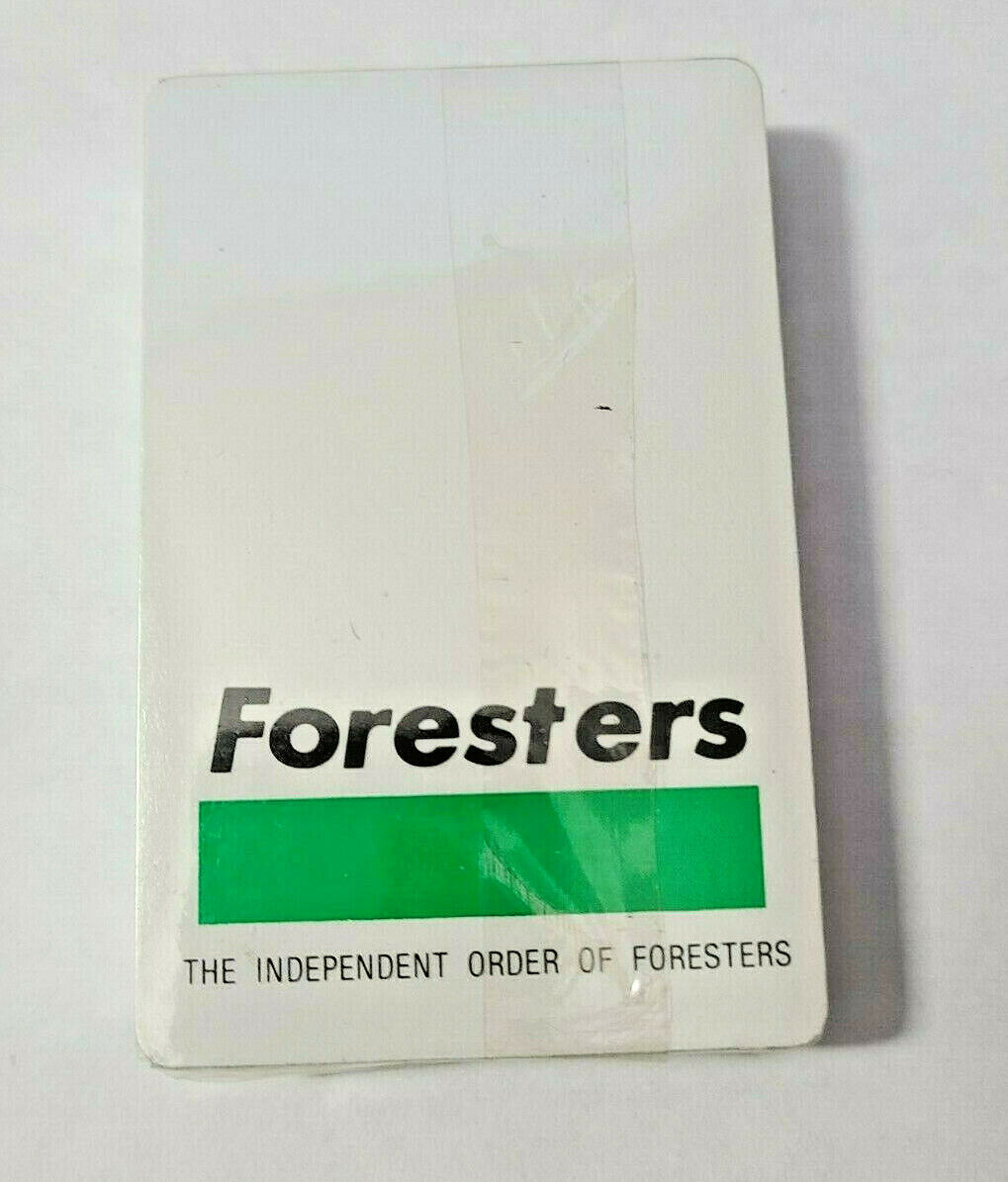 Independent Order of Foresters Playing Cards Unopened  (#29)