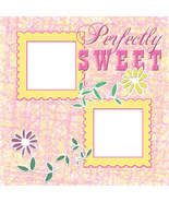 Perfectly Sweet ~ Digital Baby Scrapbooking Quick Page Layou - $3.00