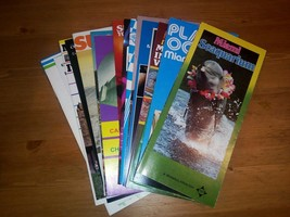 Lot of Vintage 1980's Miami Florida Pamphlets - $28.04