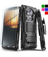 LG G Vista 2 Case Hybrid Phone Cover Kickstand Clip Holster HD Screen Pr... - $12.34