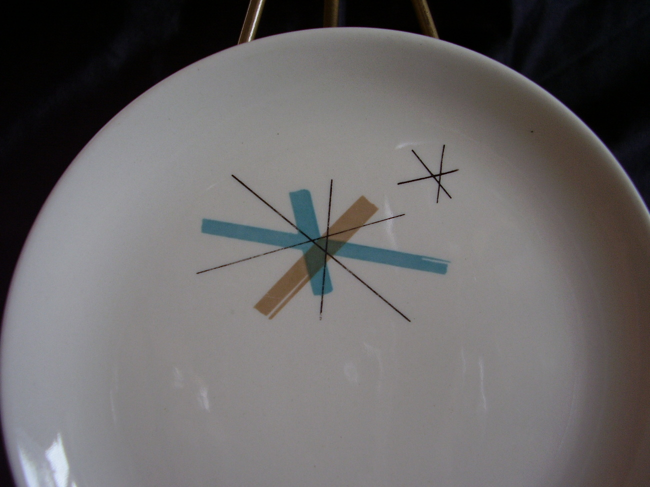 Eames Salem China North Star Bread Plate Mid Century