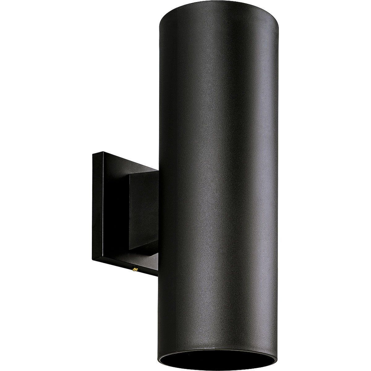 Black Finish Outside Outdoor Wall Sconce Accent Light Progress Lighting P5713-31