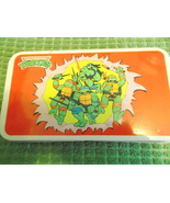 Teenage Mutant Ninja Turtle 1989 Tin Pencil Box - $15.00