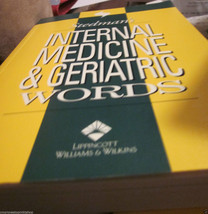 Stedman's Internal Medicine & Geriatric Medical Words Transcription CMT ... - $13.36