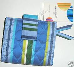 Vera Bradley Slim Wallet Caribbean Carribean Excellent - $24.74