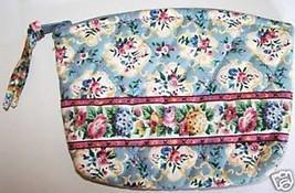 "Vera Bradley ""Pastel Blue"" Small Cosmetic Retired Bag (January 1998) - $18.40"