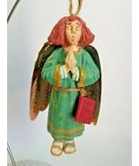 Hallmark Keepsake Ornament - Folk Art Americana - Caroling Angel 1996 - $8.86