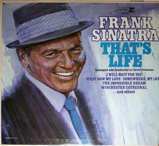 "Frank Sinatra ""That's Life"" Reprise Records F-1020 - $9.00"