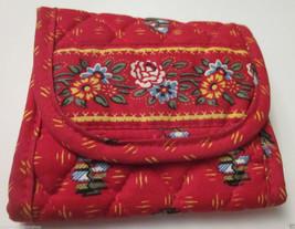 "Vera Bradley ""Provincial Red"" Pocket Wallet Retired  Vb Item - $22.76"