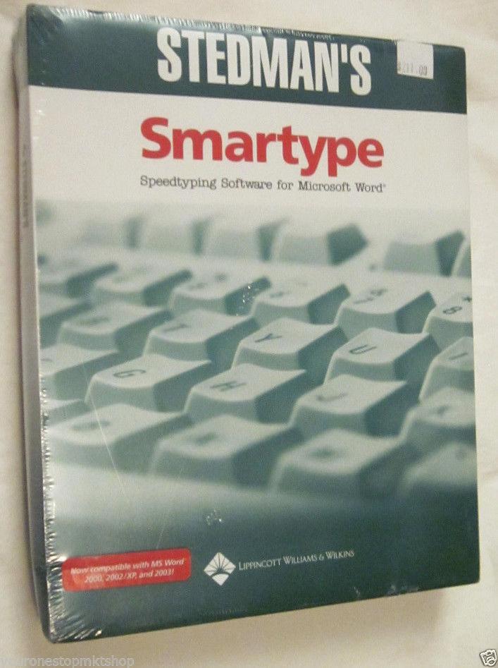 Smartype Speedtyping Medical Software Microsoft Word Transcription (CD-ROM ) NIP - $138.59