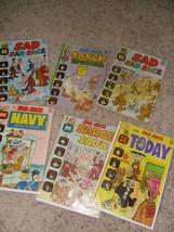 "Vintage Lot 6 ""Sad Sack"" Comics Comic Protective Sleeve George Baker Harvey - $40.58"
