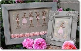 Classic Dance cross stitch chart Madame Chantilly - $12.60