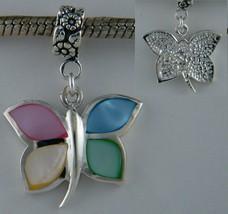 Dragonfly Enamel Sterling Silver Dangle Charm [Jewelry] - $28.49
