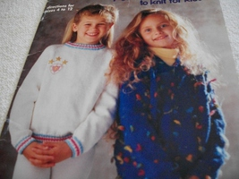 Knit Pullover Book - $5.00