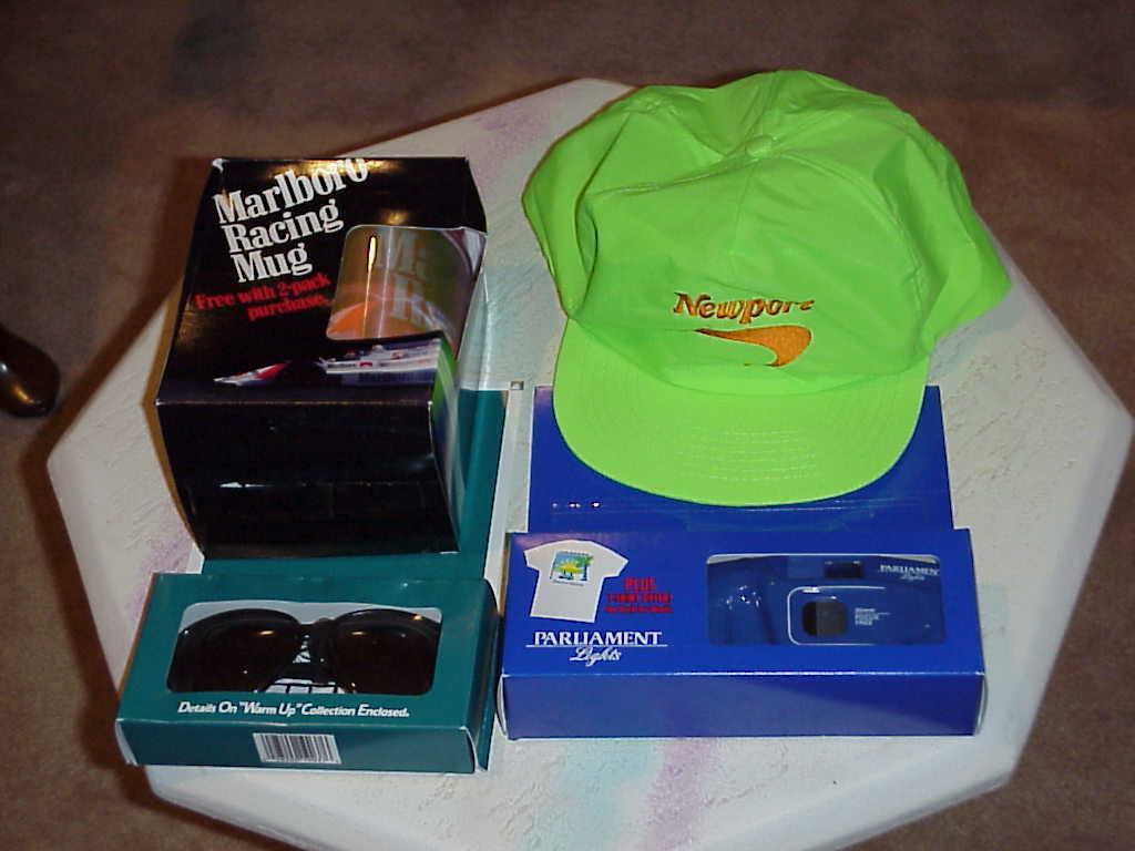 Tobacco Memorabilia , Tobacciana , Newport Cigarettes Racing