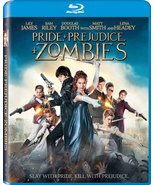 Pride + Prejudice + Zombies (2016) Blu-ray - $3.96