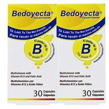 Bedoyecta Multivitamin, 30 Capsules (Pack of 2) - $27.53