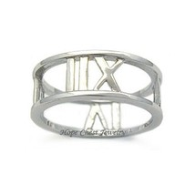 Women's Teen's Sterling Silver Designer Inspired Band Ring - SIZE 9 (LAS... - $15.74