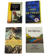 Lot of 4 Novels Safe Haven, Blue Highways, For Such A Time, The Wife Bet... - $15.83