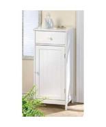 White Wood cabinet Storage Cupboard Home Storag... - $170.53