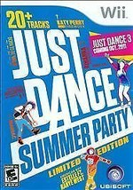 Just Dance: Summer Party (Nintendo Wii, 2011) Limited Edition Kanye COMPLETE - $14.50