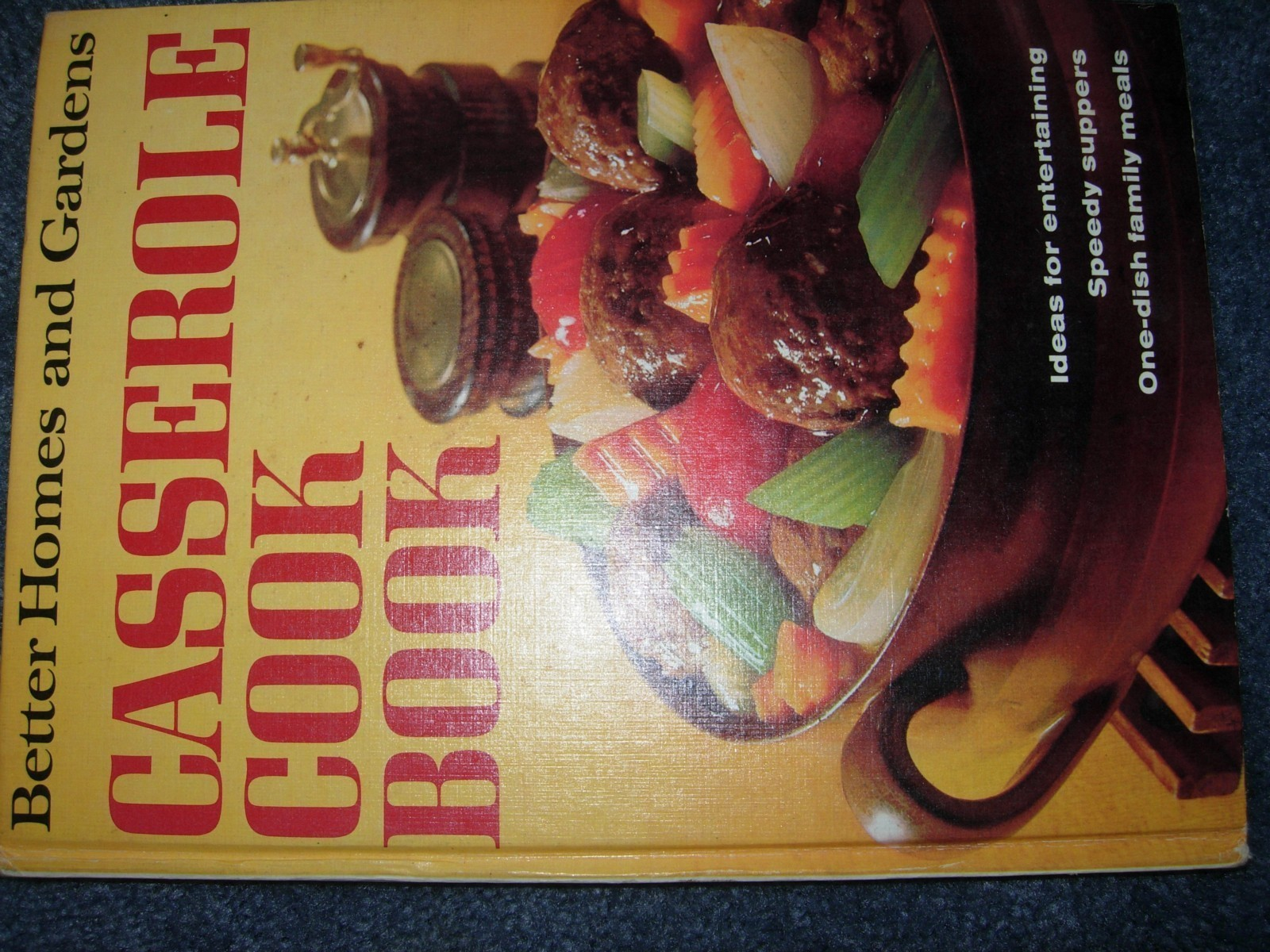 Vintage better homes and gardens casserole cook book 1968 - Better homes and gardens cookbook 1968 ...