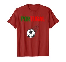 Portugal Jersey Style T-Shirt Seleccao das Quinas Soccer - $17.99+