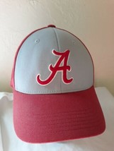 Alabama Crimson Tide hat cap red gray OSFM Big Al mascot TOTW - $7.91