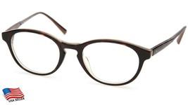 "Calvin Klein Ck 7334 214 Dark Havana Eyeglasses Frame 49-20-140mm B40mm ""Read"" - $51.93"