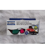 3D Vision Deluxe Glasses Works with any 3D TV or Projector NIB - $6.92