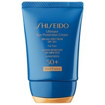 Shiseido Ultimate Sun Protection Lotion SPF 50+ For Face 1.2 oz. Travel ... - $19.79