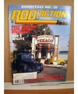 Rod Action Magazine May 1987 Bonneville No. 38, Oakland '87, Abe's Willys - $8.99
