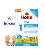 Holle Stage 1 Organic Formula, 400g 02/2020, 6 BOXES FREE EXPEDITED SHIP... - $98.95