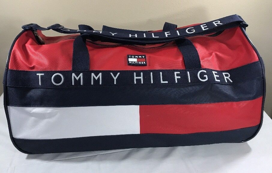 VTG Tommy Hilfiger Duffle Bag Large 90 s and 18 similar items. S l1600 a97c993686e15